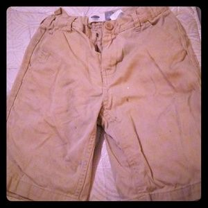 Kids Khaki School Shorts